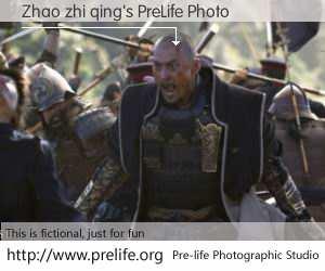 Zhao zhi qing's PreLife Photo