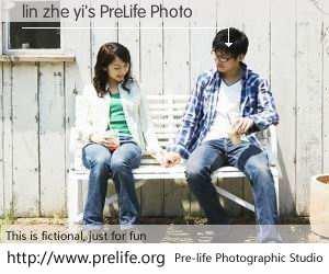 lin zhe yi's PreLife Photo