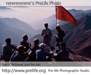 rerererererer's PreLife Photo