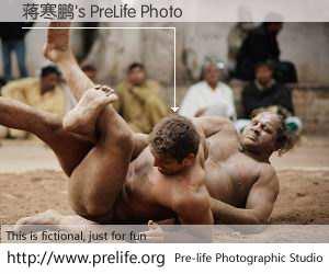 蒋寒鹏's PreLife Photo