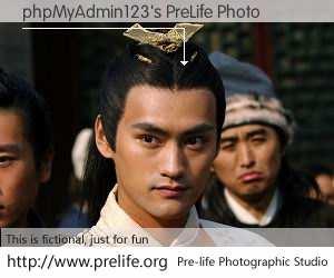 phpMyAdmin123's PreLife Photo