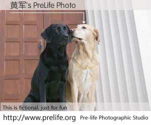 黄军's PreLife Photo