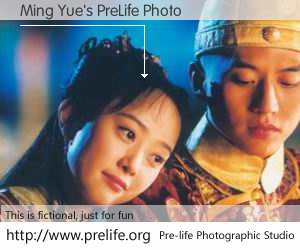 Ming Yue's PreLife Photo