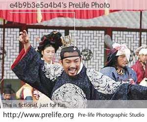 e4b9b3e5a4b4's PreLife Photo