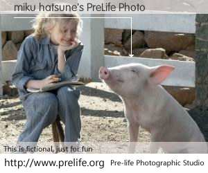 miku hatsune's PreLife Photo