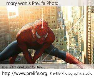 mary wan's PreLife Photo