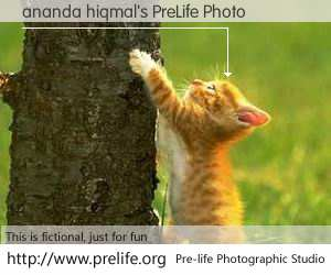 ananda hiqmal's PreLife Photo