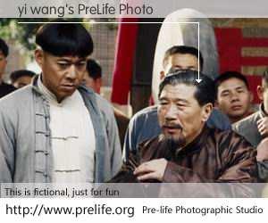 yi wang's PreLife Photo
