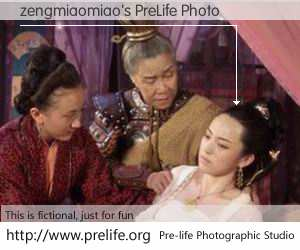 zengmiaomiao's PreLife Photo