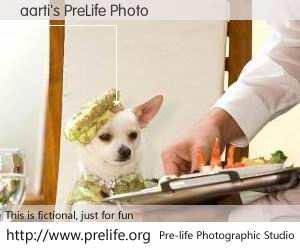 aarti's PreLife Photo