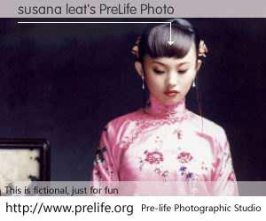 susana leat's PreLife Photo