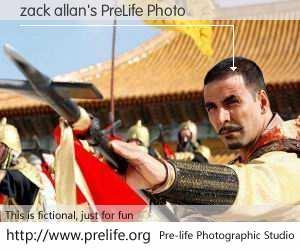 zack allan's PreLife Photo