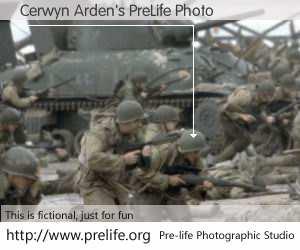 Cerwyn Arden's PreLife Photo