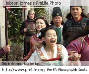 lebron james's PreLife Photo