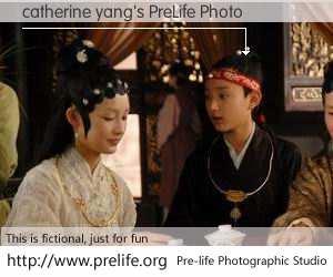 catherine yang's PreLife Photo
