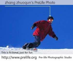 zhang zhuoqun's PreLife Photo