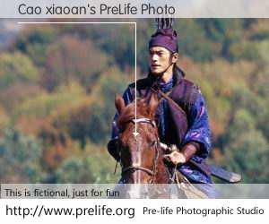 Cao xiaoan's PreLife Photo