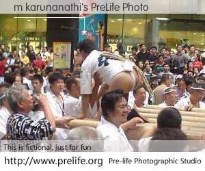m karunanathi's PreLife Photo