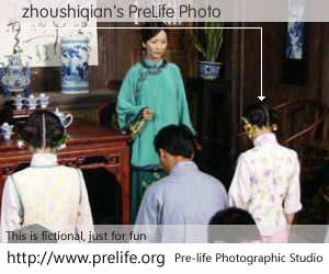 zhoushiqian's PreLife Photo