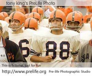 tony king's PreLife Photo