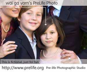 wai ga yarn's PreLife Photo