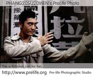 PHANG20SU20WEN's PreLife Photo