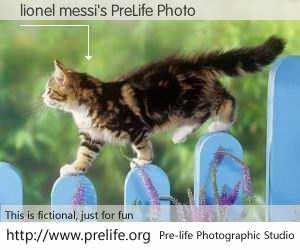 lionel messi's PreLife Photo