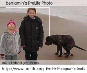 benjamin's PreLife Photo
