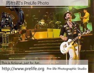 周怡君's PreLife Photo