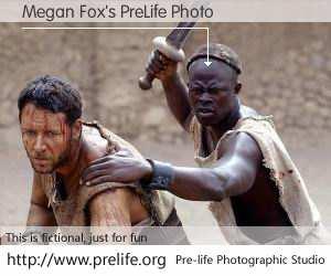 Megan Fox's PreLife Photo