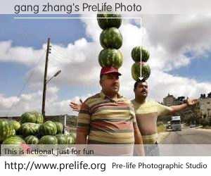 gang zhang's PreLife Photo