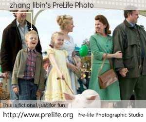 zhang libin's PreLife Photo