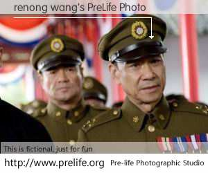 renong wang's PreLife Photo