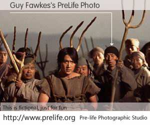 Guy Fawkes's PreLife Photo