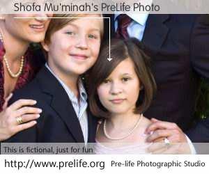 Shofa Mu'minah's PreLife Photo