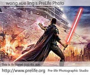 wong xue ling's PreLife Photo
