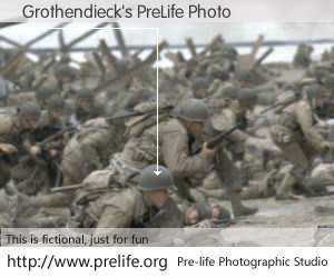 Grothendieck's PreLife Photo