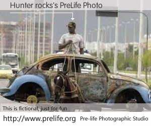 Hunter rocks's PreLife Photo