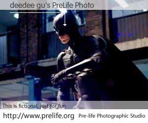 deedee gu's PreLife Photo