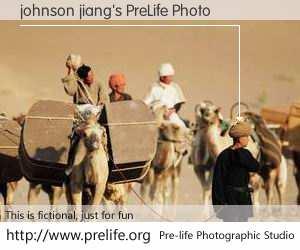 johnson jiang's PreLife Photo