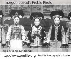 morgan pascal's PreLife Photo