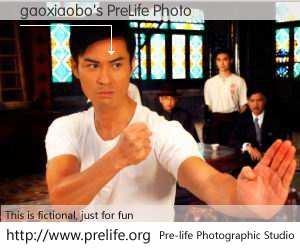 gaoxiaobo's PreLife Photo