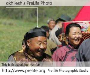 akhilesh's PreLife Photo