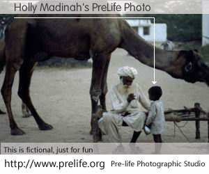 Holly Madinah's PreLife Photo