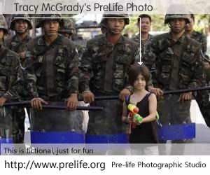 Tracy McGrady's PreLife Photo