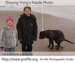 Zhaung Yong's PreLife Photo