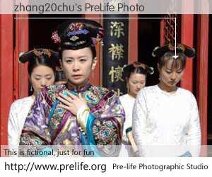 zhang20chu's PreLife Photo