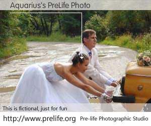 Aquarius's PreLife Photo
