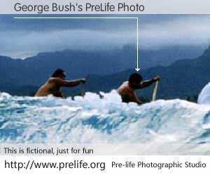 George Bush's PreLife Photo