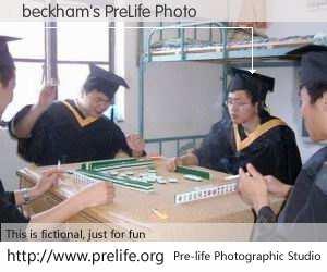 beckham's PreLife Photo